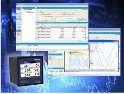 Recording measurement data whilst monitoring & controlling