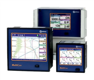 MultiCon Multichannel Controller and Datalogger