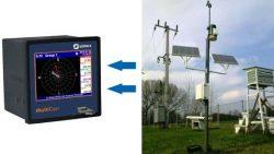 Weather data recording & visualising