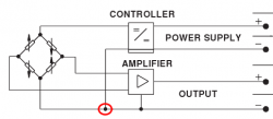Converting 3 wire voltage output pressure transducers to 4 wires