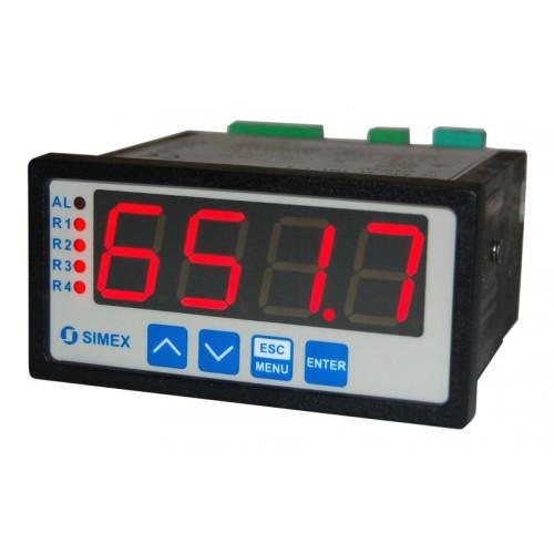 Digital Panel Meter Pressure Transducer : Kpa differential range water pressure sensor and panel