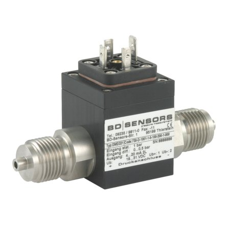 100 mbar wet/wet 4 to 20mA differential pressure sensor