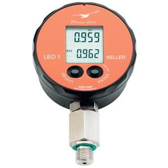 700 bar pressure gauge with fast update rate peak memory