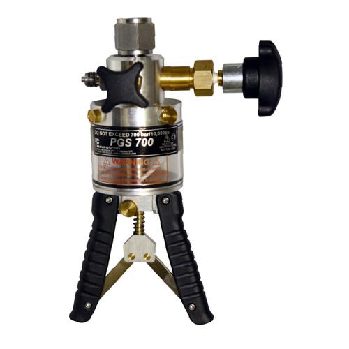 20,000 kilopascal portable hydraulic calibration hand pump