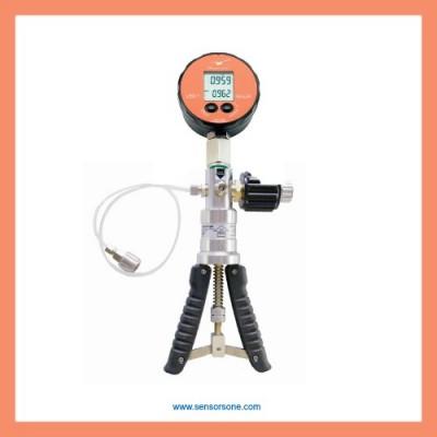 30bar pressure calibration handpump kit & 0.2% acc test gauge