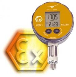 30 bar g or abs Ex approved test gauge