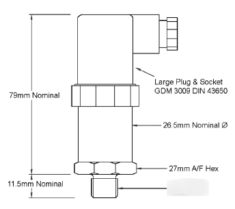 Low cost diesel engine test pressure transducers