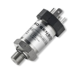 Seawater pressure transmitter with 10 bar range and marine certification