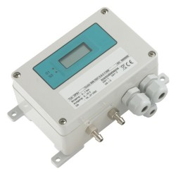 100 Pa differential air pressure transmitter with bi-directional range