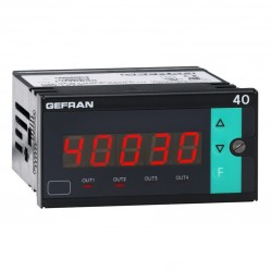 40B96 Strain Gauge Readout with Process Alarm Relays