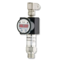 DS201P High Range Flush Pressure Gauge, Switch and Sensor