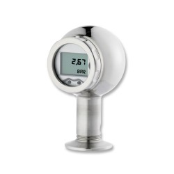 Xacti Rangeable Flush Pressure Transmitter with LCD Readout