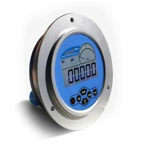 Aircraft pneumatic unit test bench 100 psia range panel mount digital pressure meter