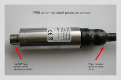 Vacuum insulation 15 psi absolute range millivolt output pressure sensor for air extraction use