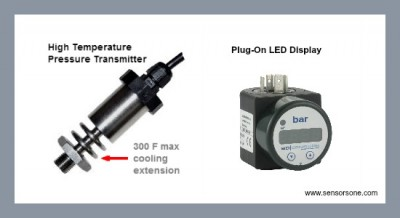 25 psi steam pressure measurement with a transmitter & display