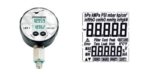 1MPa, 10bar, 4000inH2O, 150psi, 1000kPa range pressure gauge