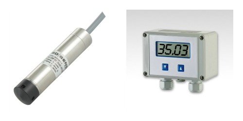 200m deep well pump water level sensor, switch & display