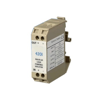 Loop Powered 4-20mA to Current/Volts Isolator - 420i & 420V