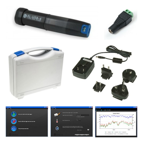 4-20mA Transmitter Data Logging Kit