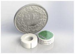 ME657 small diameter thermally compensated monolithic piezoresistive ceramic pressure sensor core module