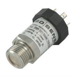 Powder filter blockage monitoring pressure transmitter