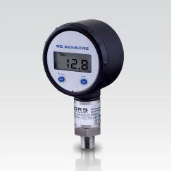Oxygen use oil & grease free 400 bar digital pressure gauge