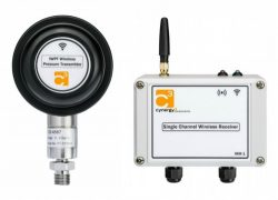400barg range wireless pressure sensing kit for use on rotating hydraulic clamping tools