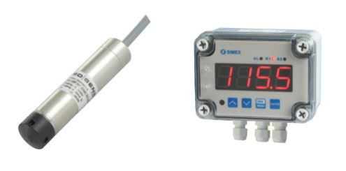 25m borehole submersible pump level indicator and control switch with level sensor