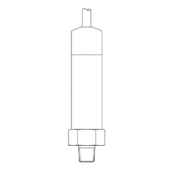10 psig 4-20mA out submersible freshwater pressure sensor for underwater structure research