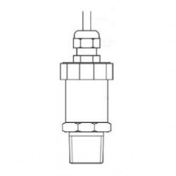 10000psig range 0-5Vdc output mineral oil high pressure sensor for hydraulic cylinder use