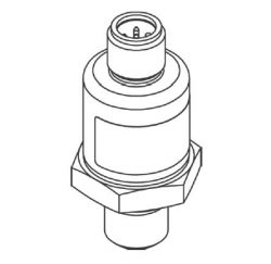 DCT143 IO-Link Interface Mobile Hydraulics OEM Short Length Pressure Sensor