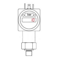 600 barg freshwater booster pump pressure switch, gauge and transmitter