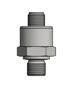 Drawing of 17.620 G Low Cost Heavy Duty Compact OEM Hydraulic Pressure Sensor