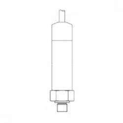 IP68 10 bar range 4 to 20mA output water pressure transmitter