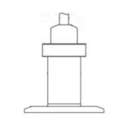 Brewing tank 2,000mm range 0-5Vdc output stainless steel 316L beer level sensor