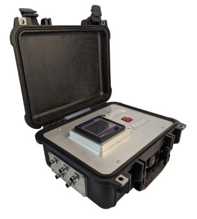 XSYS-0011 Portable Multichannel Data Logger with Optional Printer and Integrated Transport Case